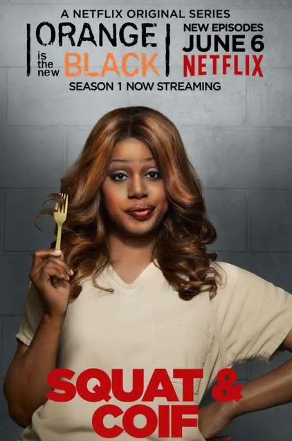 Laverne Cox Actriz de Orange is the New Black de Netflix