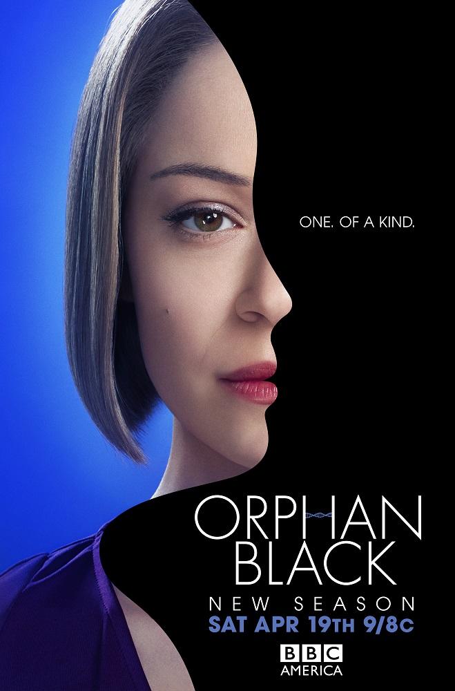 Nuevo Poster de Orphan Black con Tatiana Maslany de BBC