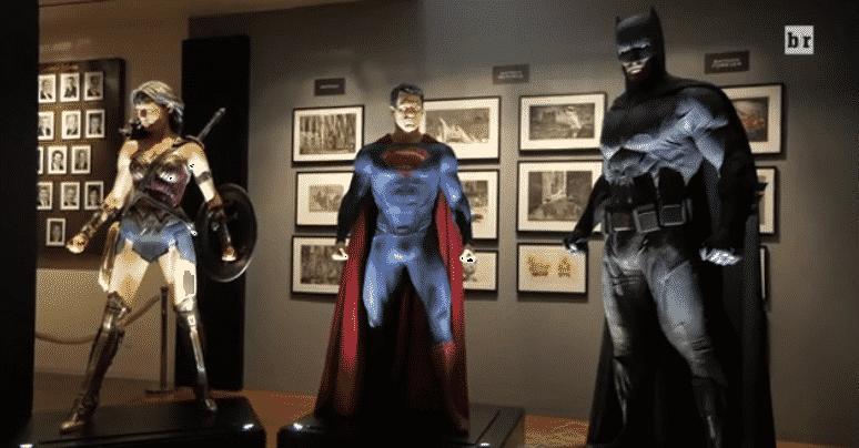 Trinidad de DC Wonder Woman, Superman, Batman