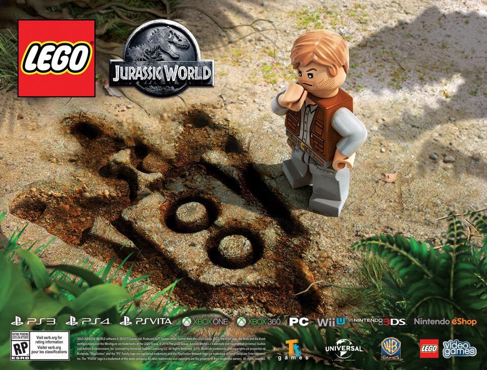 Parece que Lego Jurassic World estará en casi todos los soportes