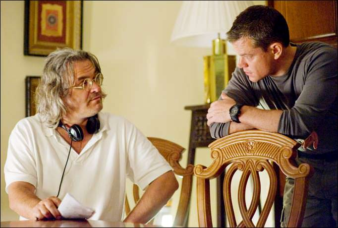 Matt Damon y Paul Greengrass