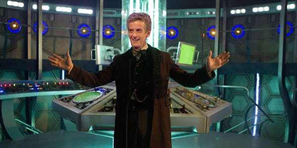 Peter Capaldi como el 12vo Doctor Who de BBC
