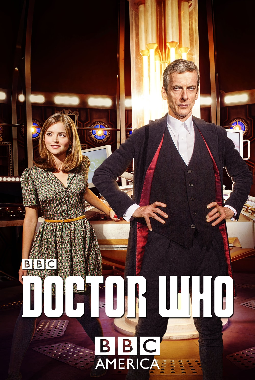 Primer Poster oficial de Doctor Who y su nueva temporada, donde veremos al 12vo Doctor. Peter Capaldi (The Doctor) y Jenna Coleman (Clara) para Doctor Who de BBC.