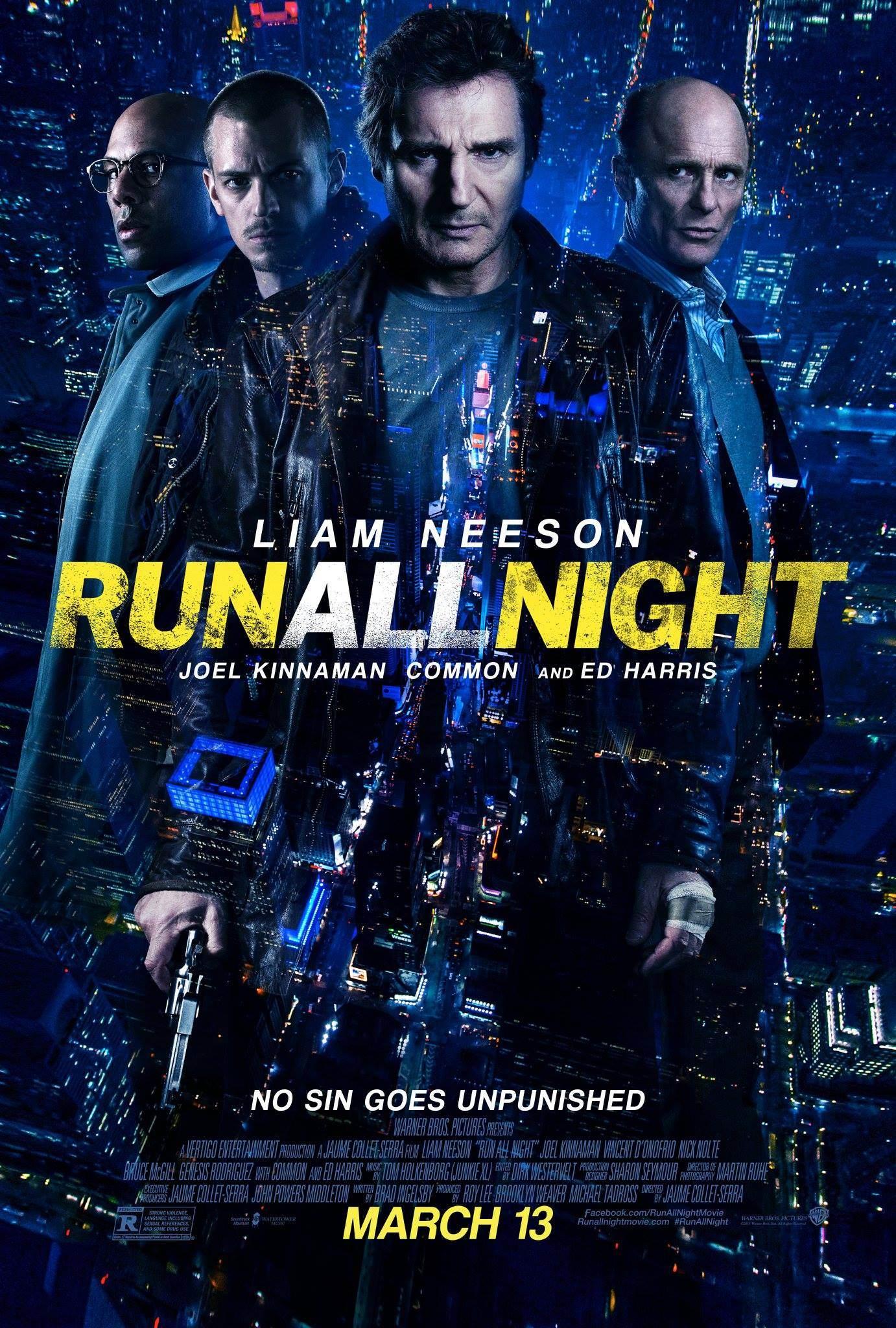 Poster Run all night