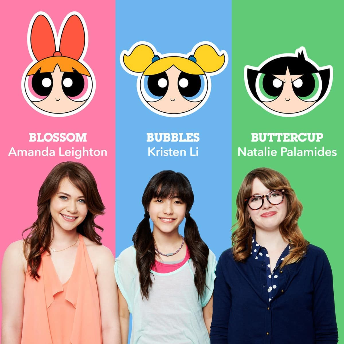 EL talento vocal para el regreso de las Powerpuff girls al cartoon network