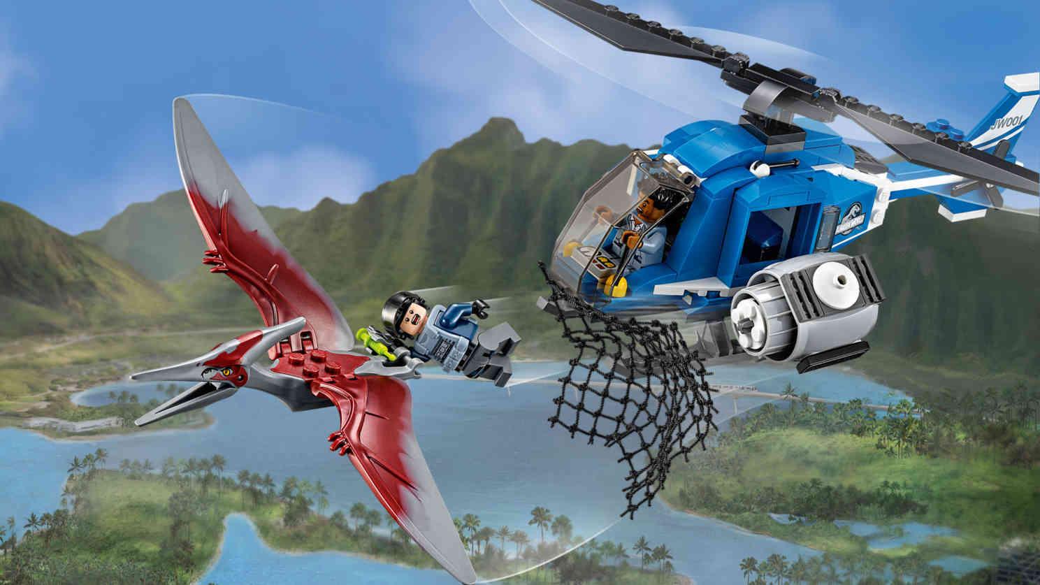 Pteranodon Capture - Lego Jurassic World