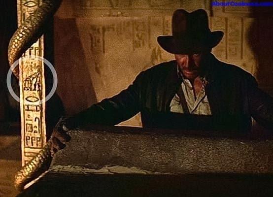 R2D2 y C3PO en Indiana Jones