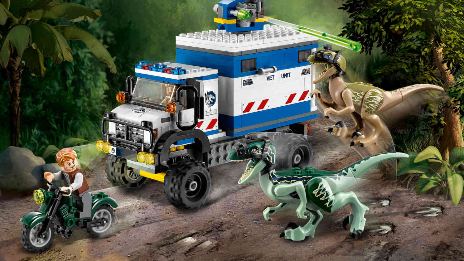 Lego  Jurassic World  - Raptor Rampage