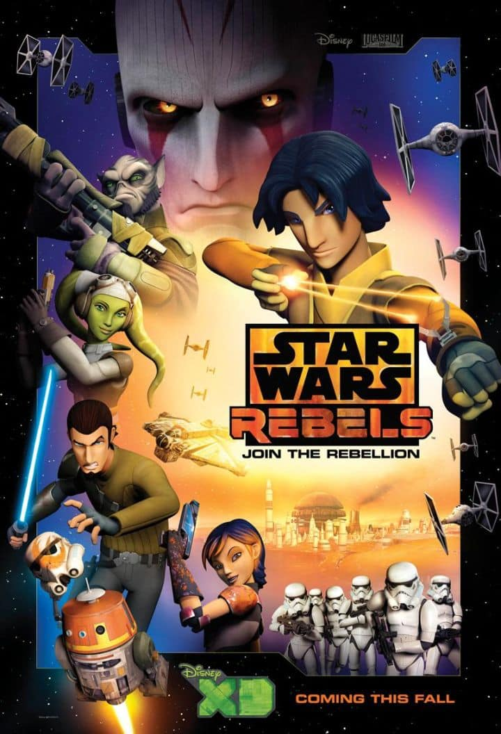 star wars rebels comic-con 2014