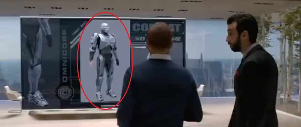 Robocop Easter Egg