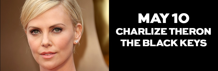 Charlieze Theron será host de Saturday Night Live, de NBC, acompañada por The Black Keys
