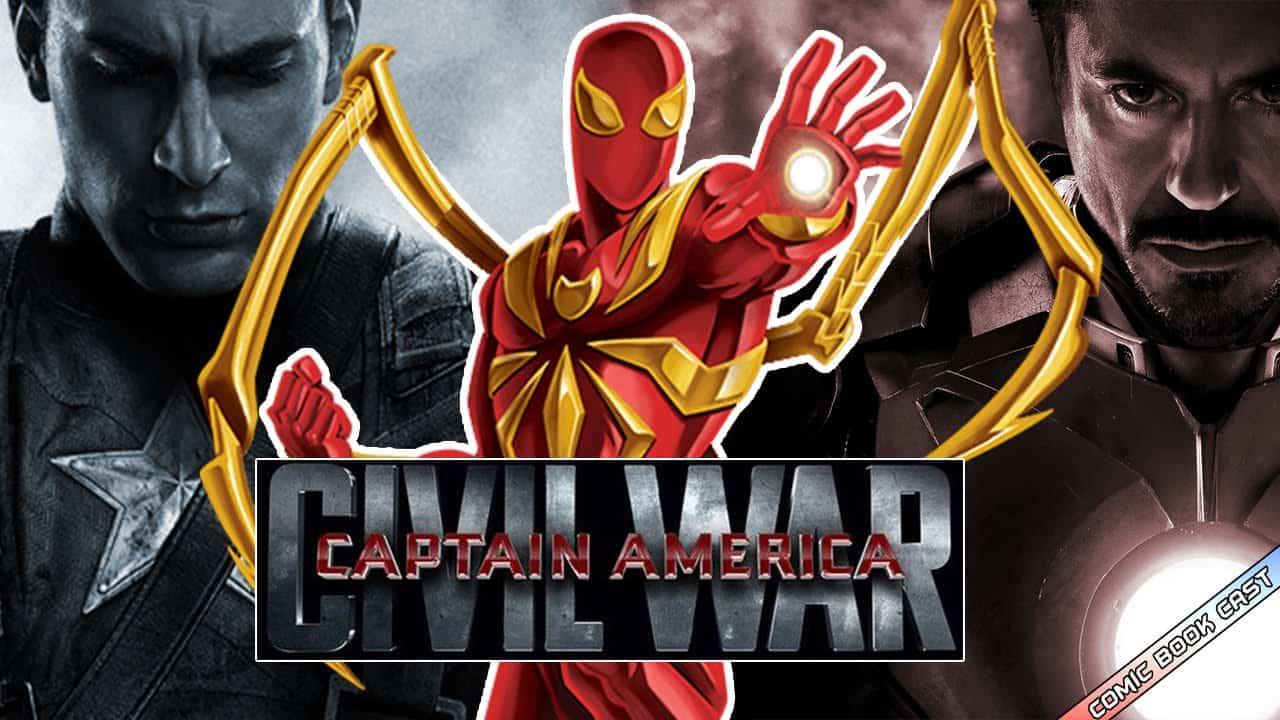 Spider Man Captain America: Civil War