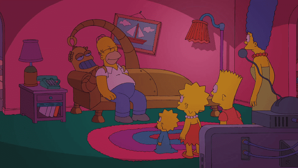 Imagen promocional de Los Simpsons con Bob Patiño (Interpretado por Kelsey Grammer). Después de tantos rumores, controversia y amenzas, Harry Shearer conocido por por su rol como Sr. Burns, Ned Flanders, Smithers, Dr. Hibbert, Skinner, Lenny y muchos personajes más regresará al show. Los Simpsons se encuentran actualmente en su 26ma temporada, creado por Matt Groening y estelarizada por Dan Castellaneta, Julie Kavner, Nancy Cartwright, Yeardley Smith, Harry Shearer, Pamela Hayden y Tress MacNeille.