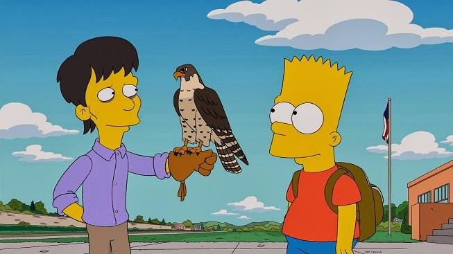 Imagen promocional de 'Diggs' episodio de la 25ta temporada de Los Simpsons con Daniel Radcliffe de FOX. Los Simpsons presentaron la primera imagen promocional del cross-over entre Los Simpsons y Futurama que se estrenará esta temporada 26. La 26ta temporada de Los Simpsons se estrenará en Septiembre en FOX para Estados Unidos, mientras que en 2015 para Latinoamérica.