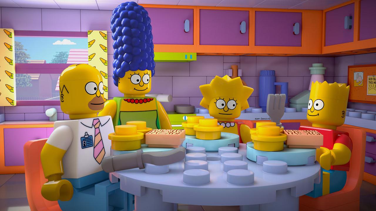 Promo de Los Simpsons en FOX y su episodio de LEGO