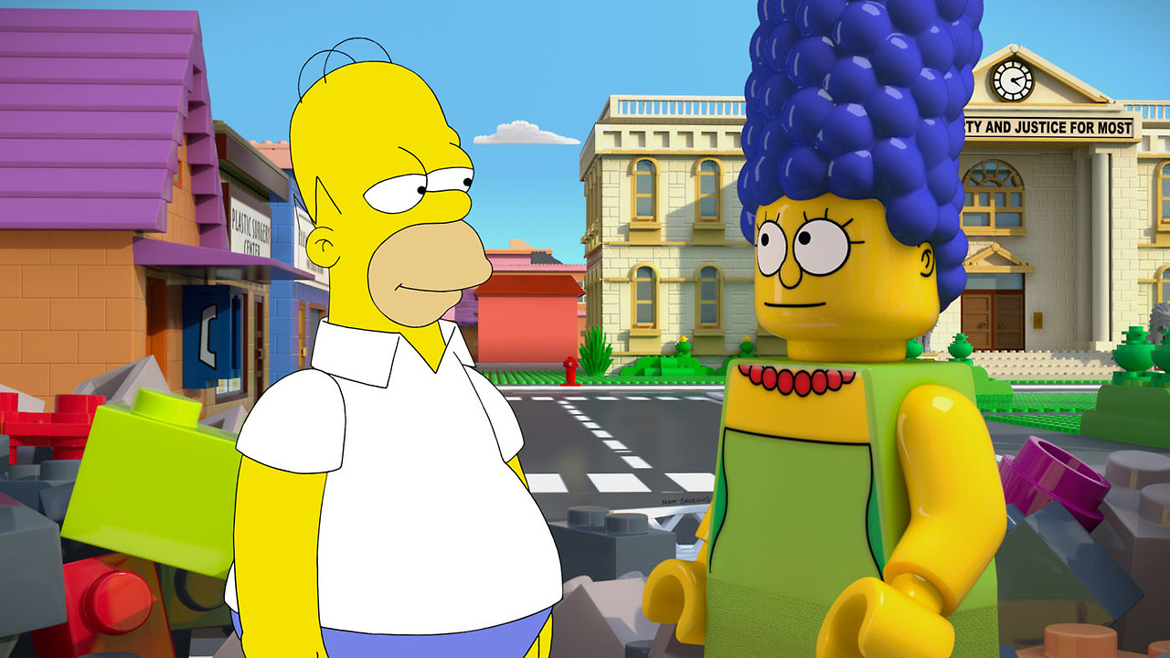 Promo de Los Simpsons en FOX y su episodio de LEGO