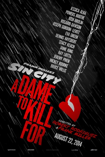 Poster de Sin City: A Dame to Kill For