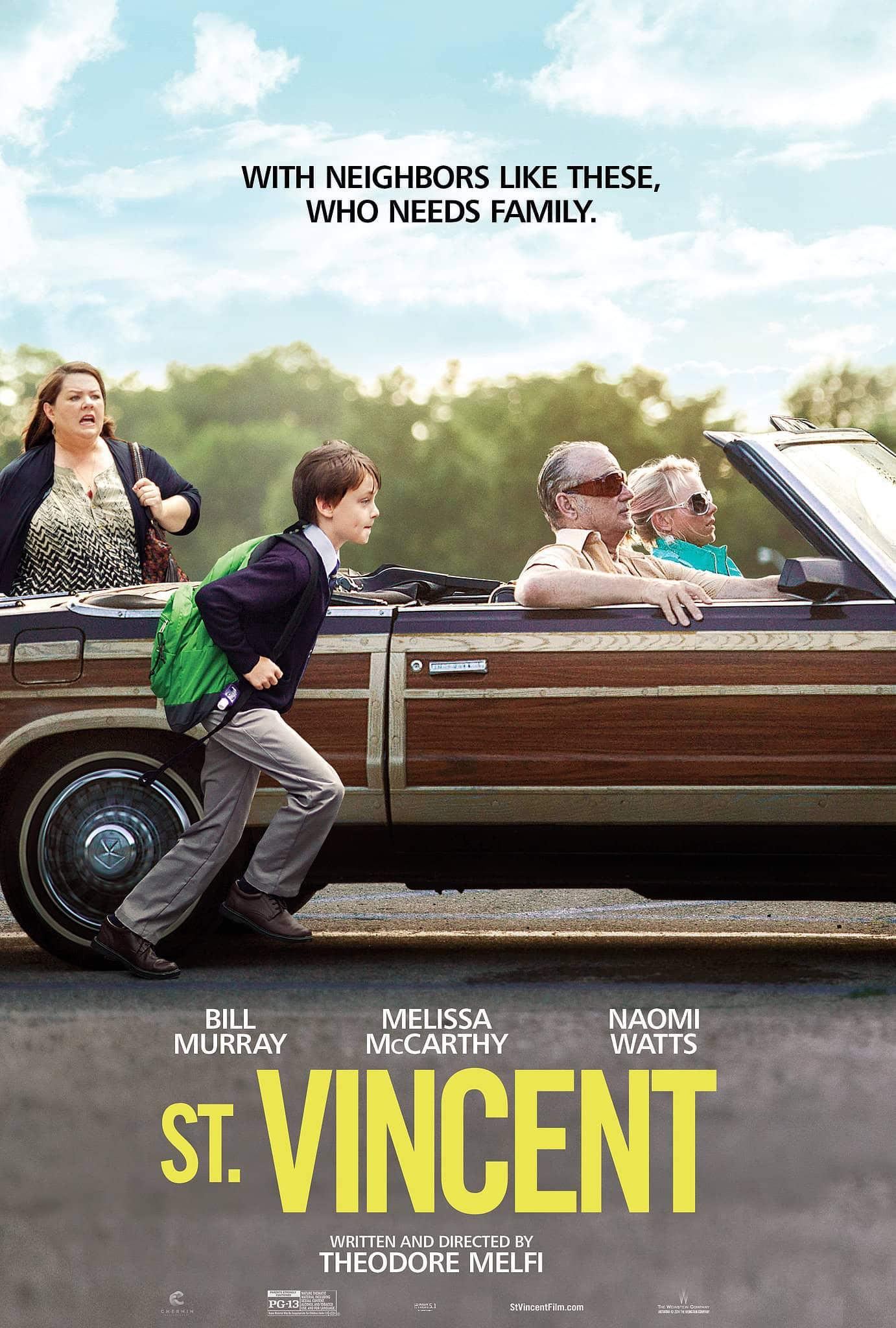 St. Vincent (Bill Murray) - 2014 - Poster