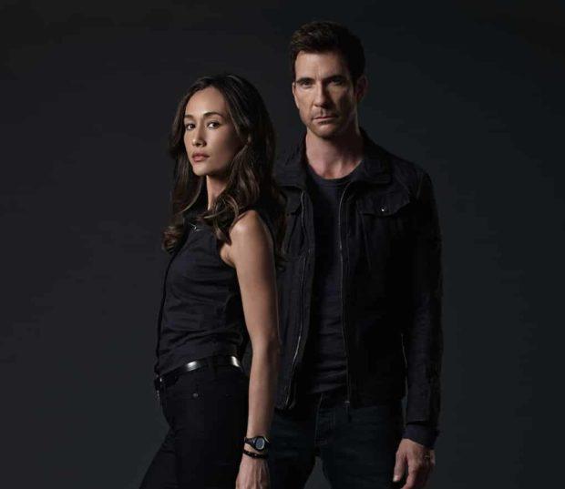 Maggie Q (Beth Davis) y Dylan McDermott (Jack Larsen) en Stalker - © Universal Channel