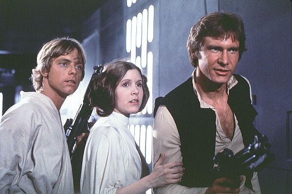 Star Wars luke skywalker han solo leia skywalker