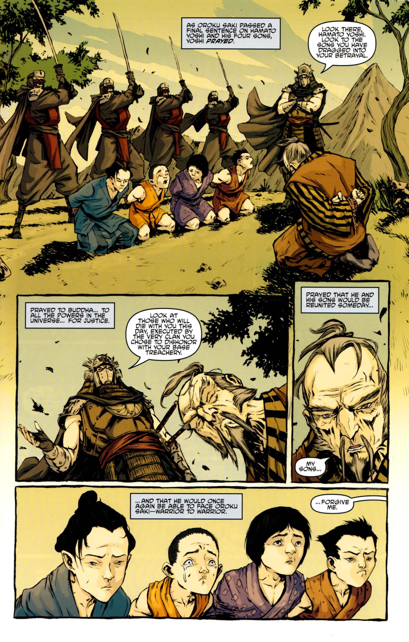 totrtugas ninja de idw #5