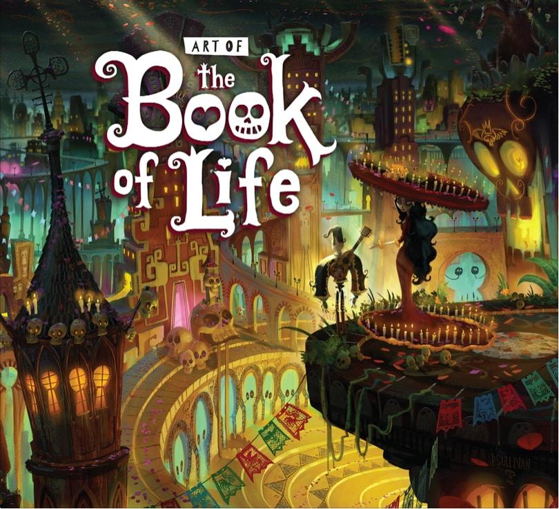 Arte Oficial de The Book of Life, producida por Guillermo del Toro y dirigda por Jorge Gutierrez.