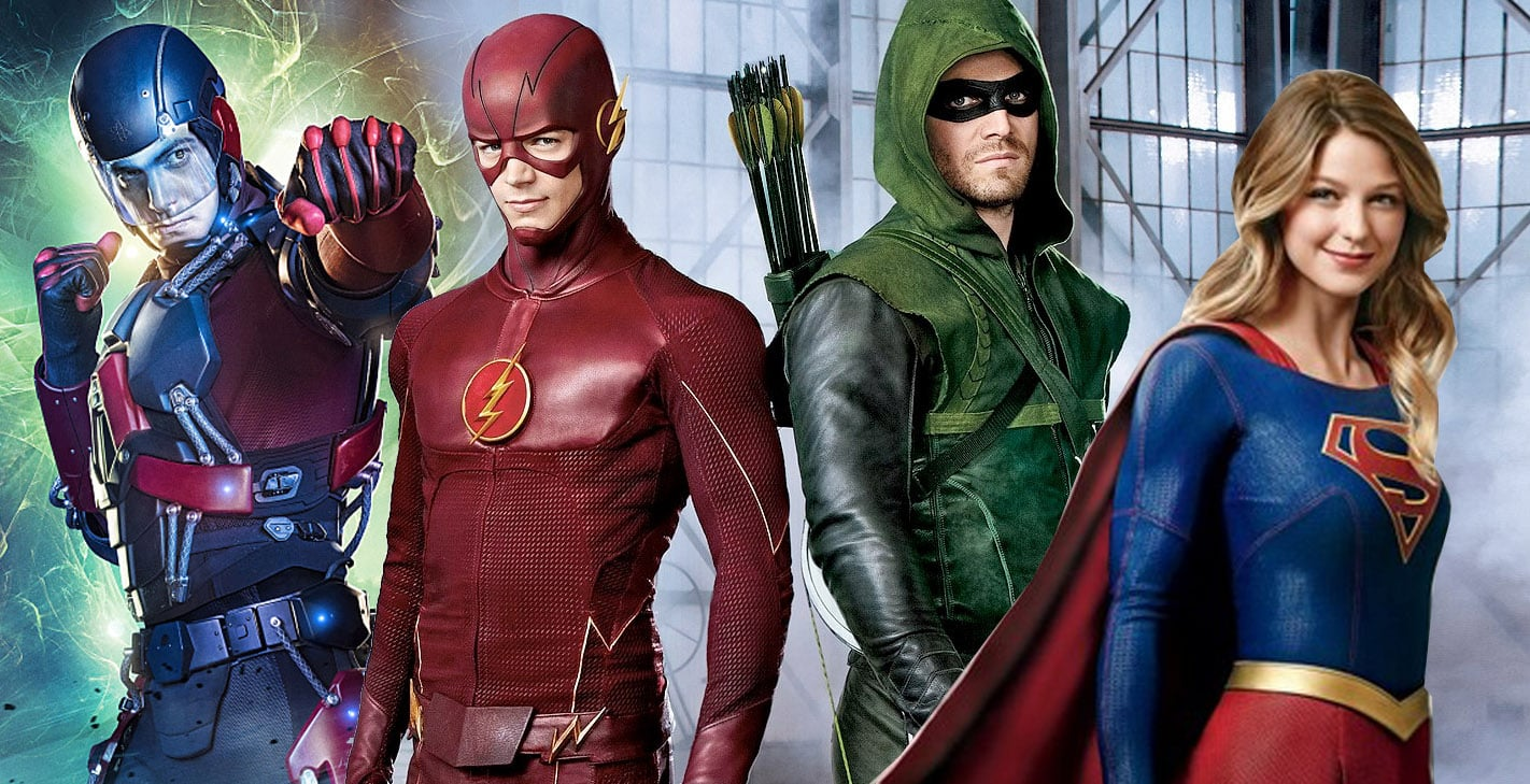The-CW-crossover, Flash, Arrow, Supergirl, Legends of Tomorrow