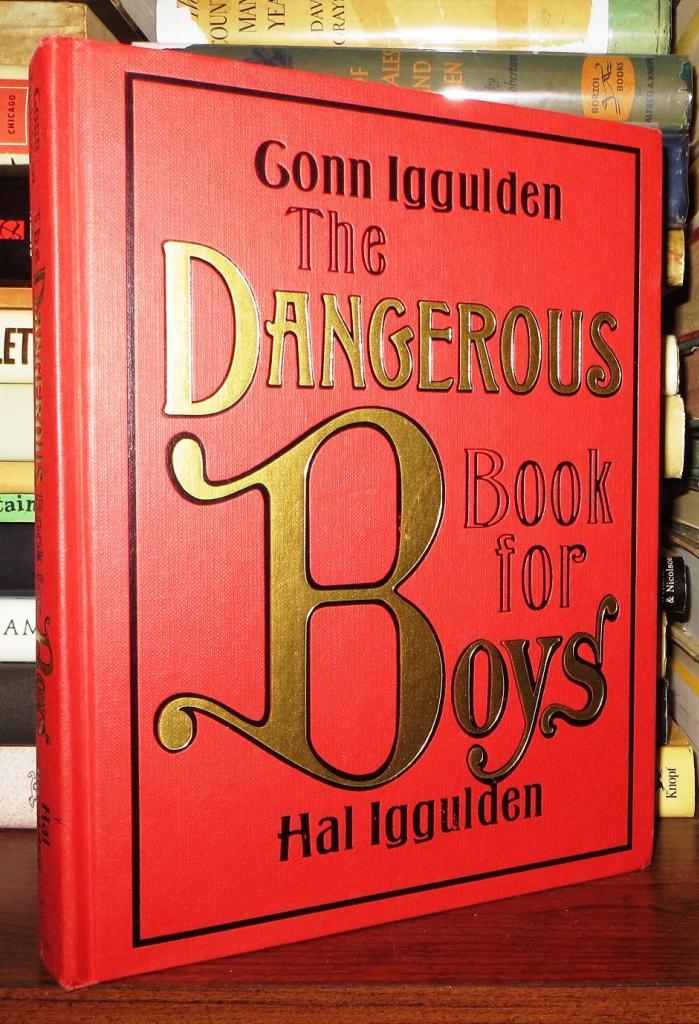 The Dangerous Book for Boys de Conn y Hal Iggulden llegar a la TV gracias a Bryan Crnaston y su compañia de desarrollo, Moon Shot Entertainment, para Sony Pictures TV