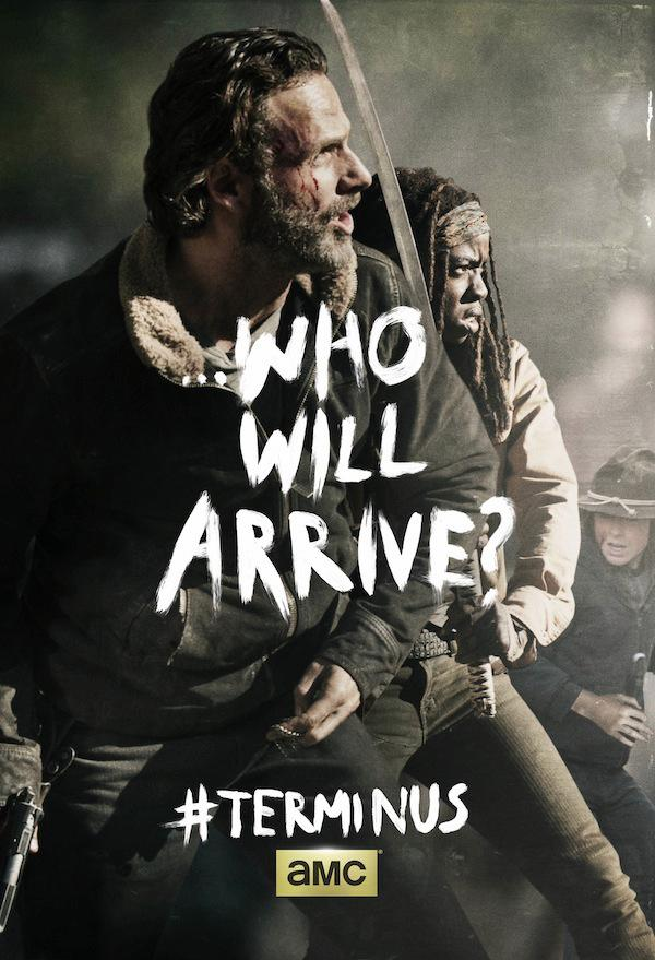 Poster para el Final de Temporada de The Walking Dead de AMC