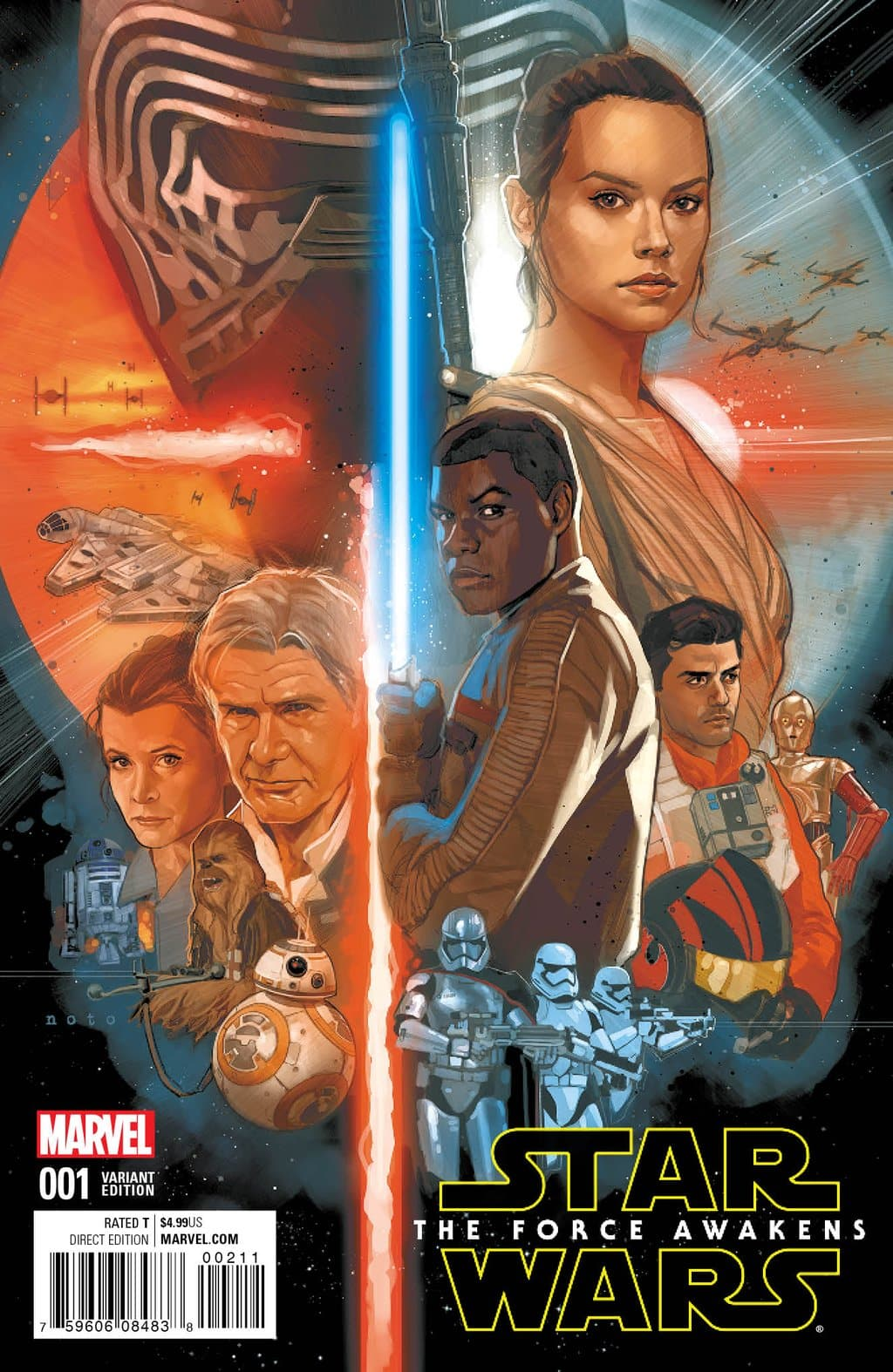 The force awakens de Phil Noto