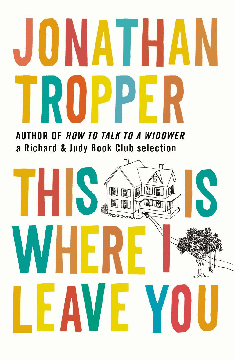 Portada de This is Where I Leave You Portada, de Jonathan Tropper