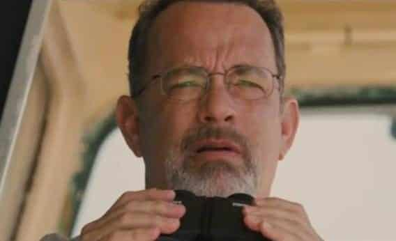 "Hanks en ""Captain Phillips"""