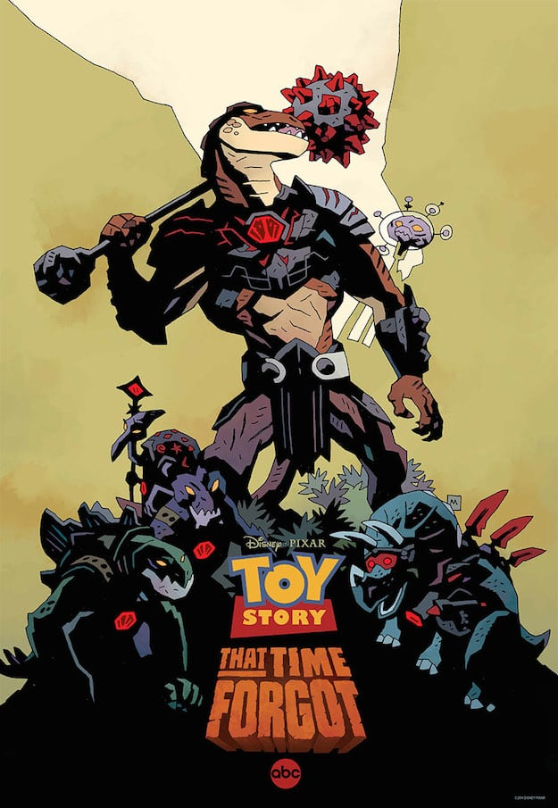 Toy Story That Time Forgot - Mike Mignola