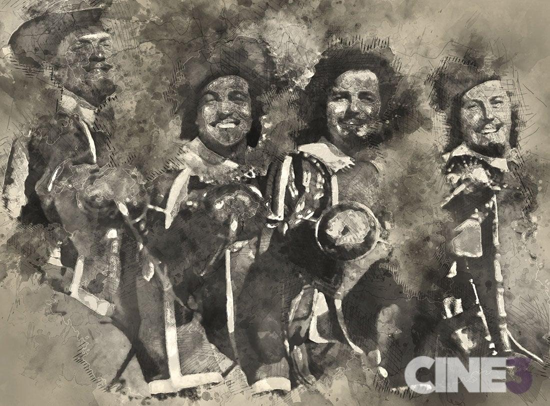 Tres Mosqueteros 1948