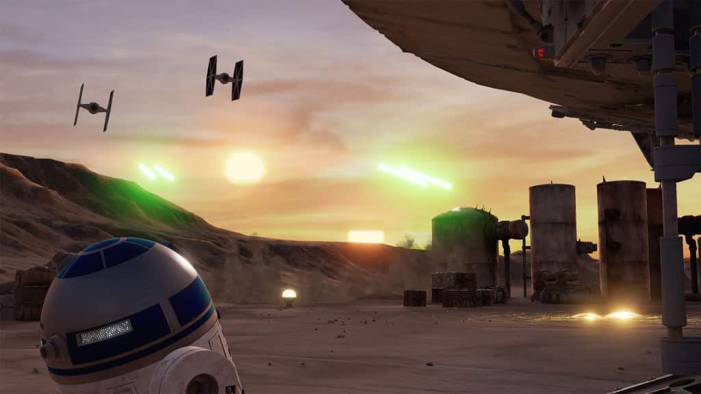 "Star Wars siempre en el ""Bleeding edge"" , con una pulida experiencia de realidad virtual Trials on Tatooine"