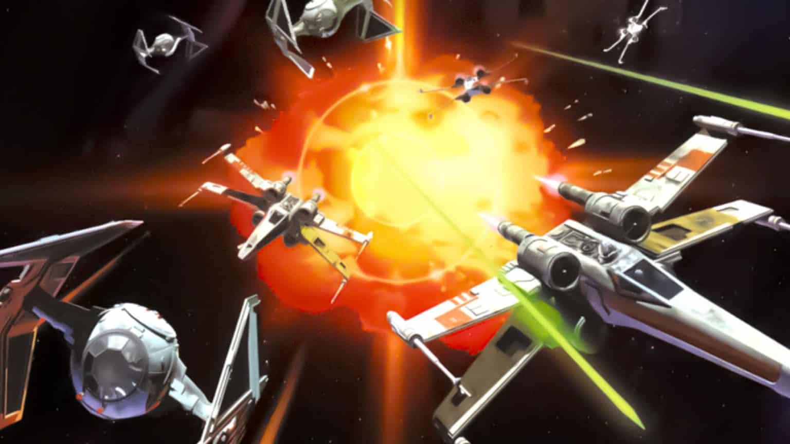 X-Wing vs. TIE Fighter