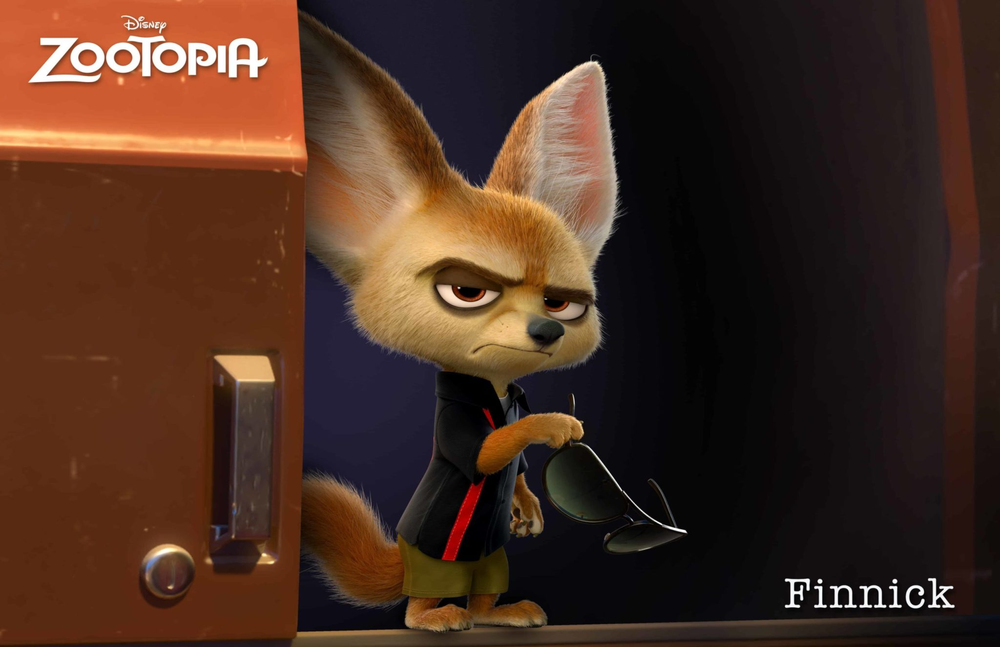 ZOOTOPIA – FINNICK, a fennec fox with a big chip on his adorable shoulder. ©2015 Disney. All Rights Reserved.