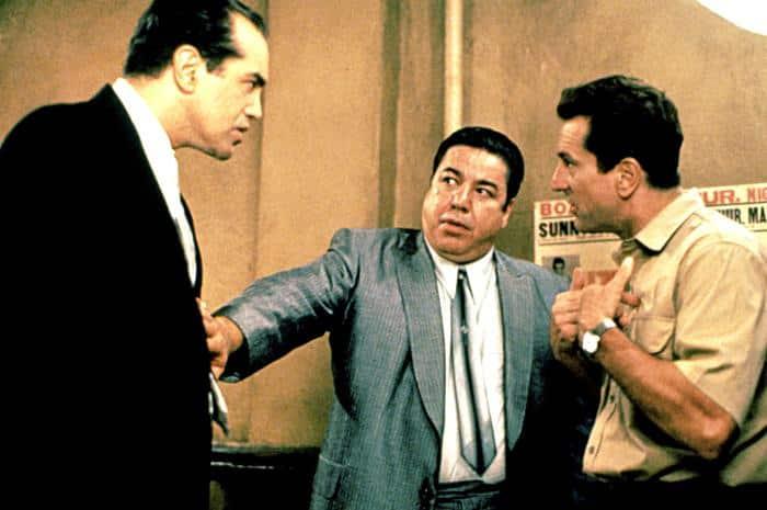 Chazz Palminteri, y Robert De Niro, en 'A Bronx Tale', 1993.