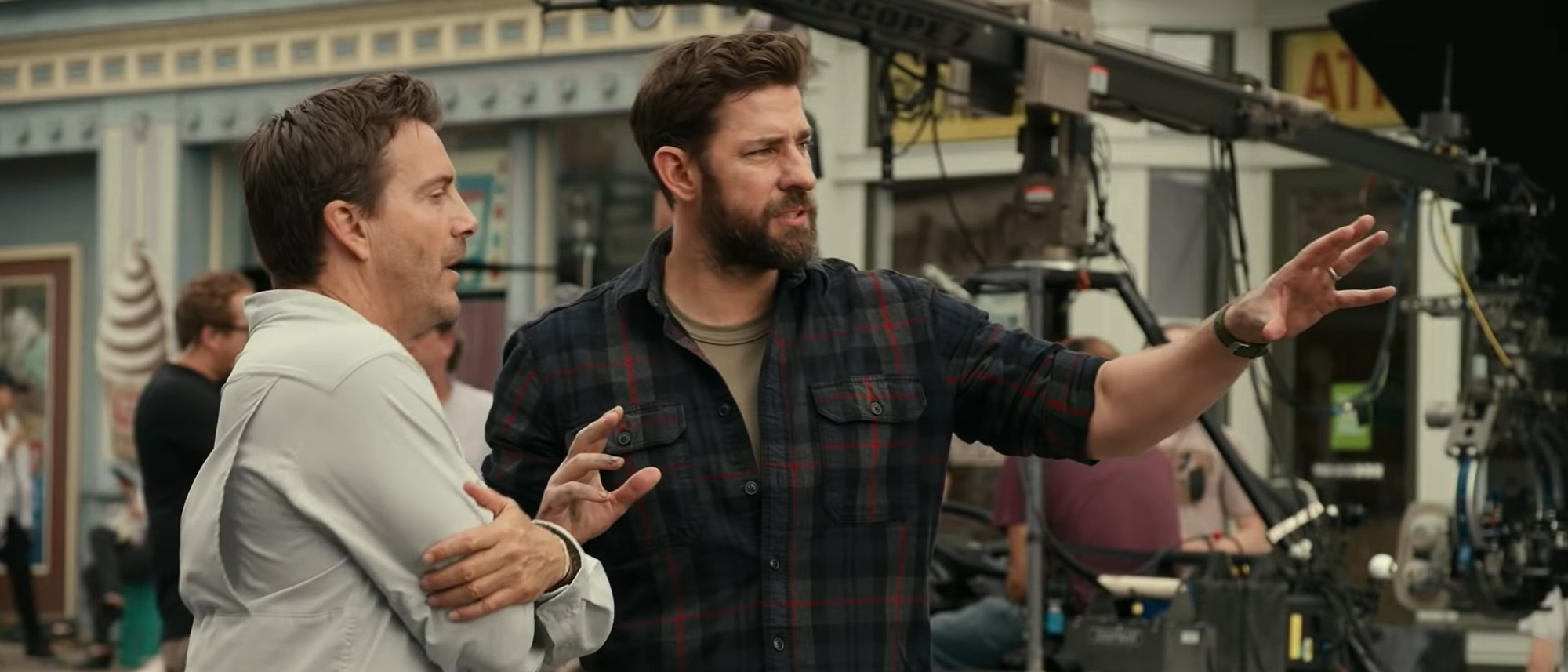 John Krasinski regresa en nuevo spot de A Quiet Place Part II del Super Bowl