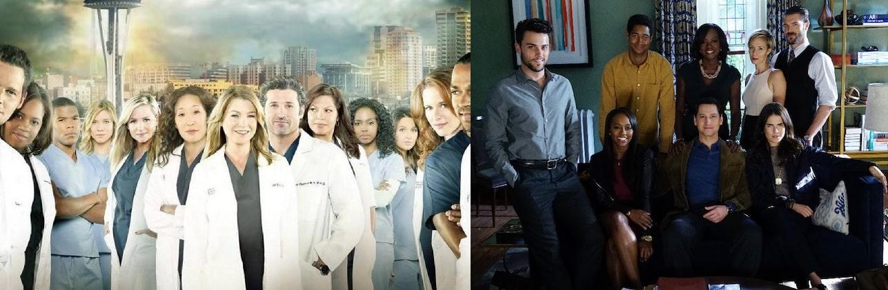 ABC, Grey's Anatomy, How To Get Away With Murder.