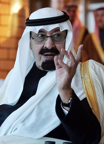 S Majestad Abdulá bin Abdel Aziz