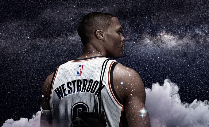 Russell Westbrook con el Air Jordan XXX