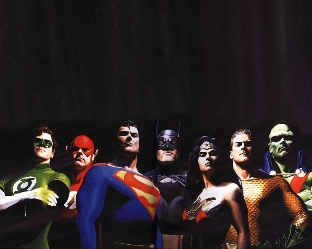 Alex Rox - Justice League