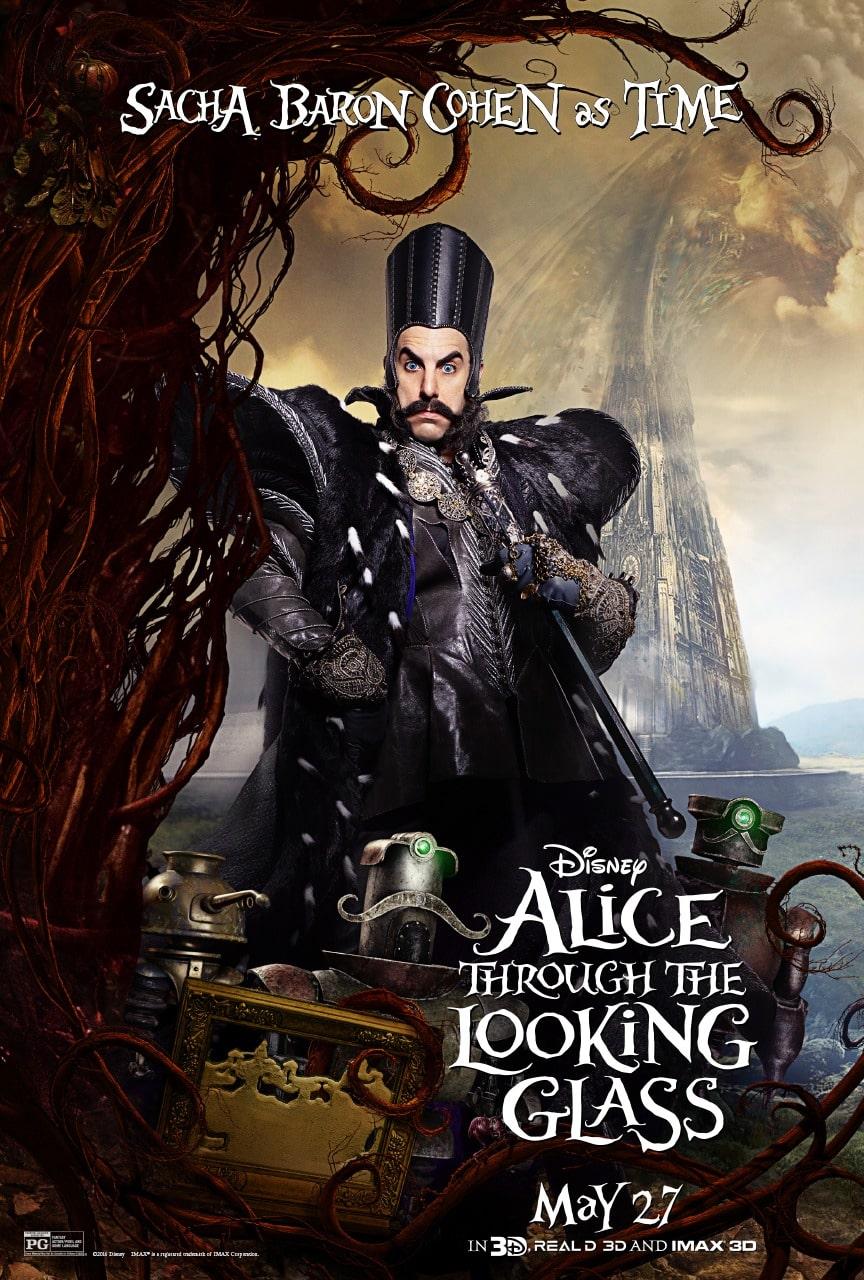 Un nuevo trailer y posters para Alice Through The Looking Glass