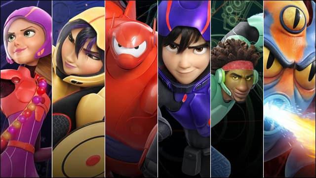 Grandes Heroes - Personajes