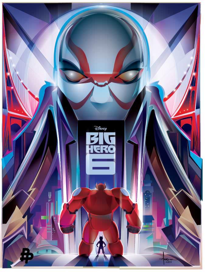 Big Hero 6 el bien y el mal