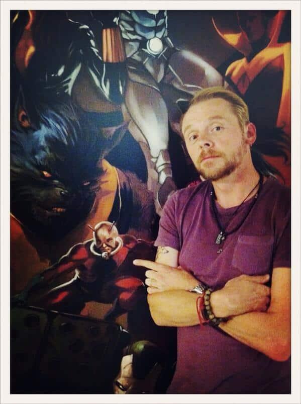Ant Man Simon Pegg 1
