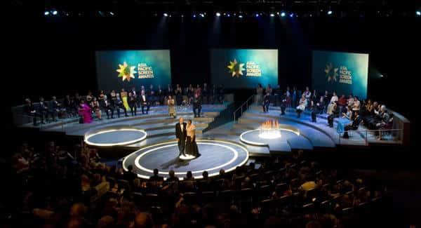 Escena de la premiación 2008