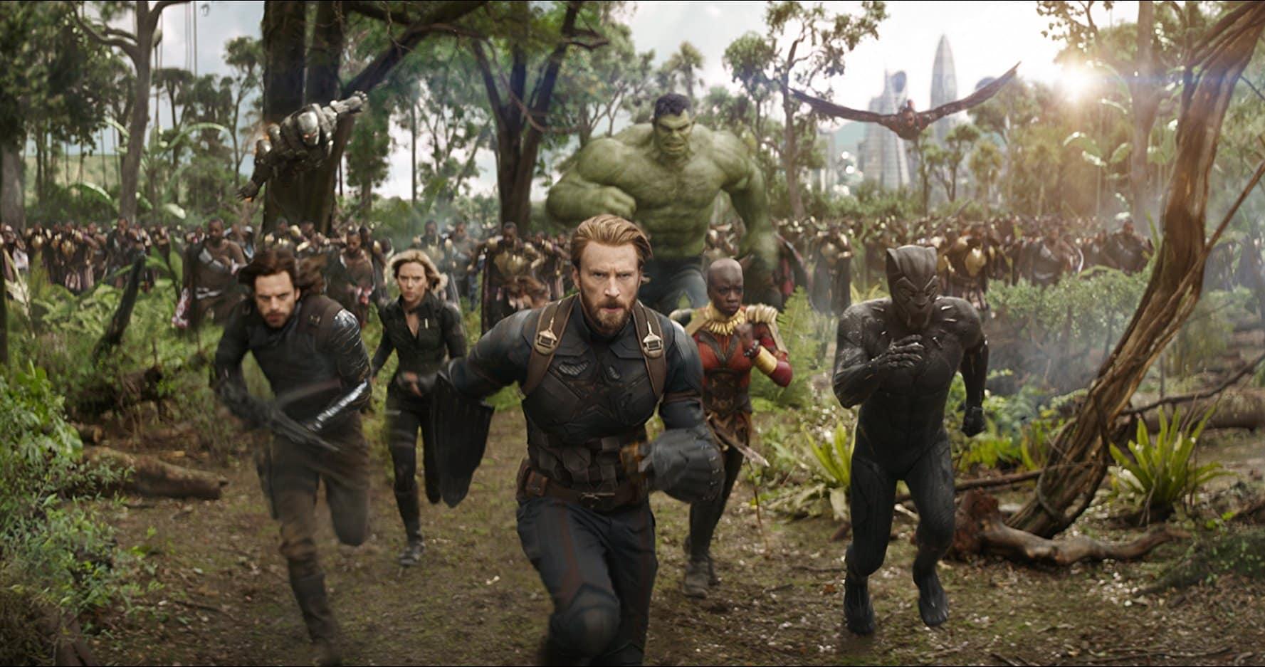 Avengers: Infinity War supera los mil millones en taquilla en tiempo récord