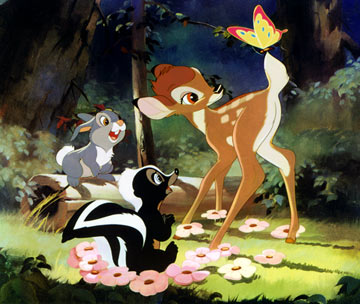 Escena de Bambi
